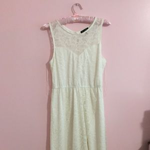 As U Wish White Dress